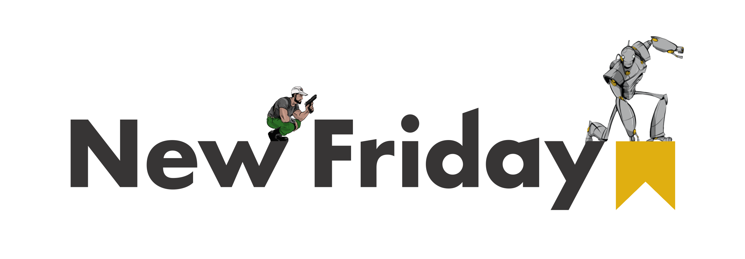 New_Friday_Logo PSD BMO - Robot & Dude